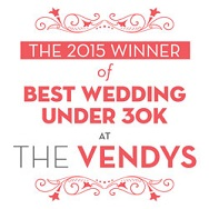 2015 Best Wedding Vendys Award