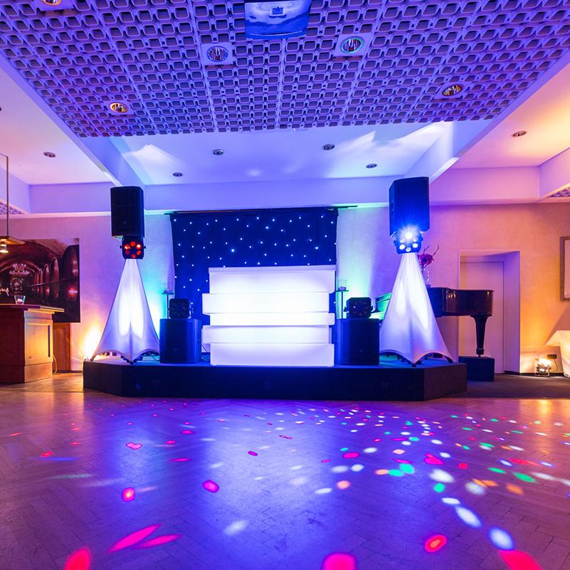 Dance Floor Uplighting Services
